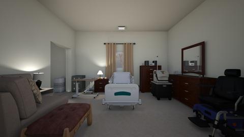 Long Term Care Bedroom - Bedroom  - by WestVirginiaRebel