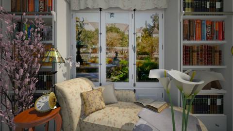 Audubon 1 - Feminine - Living room  - by russ