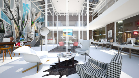 Graphic Agency - Office - by AlSudairy S