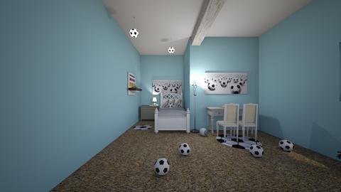 room - by SoccerQueen