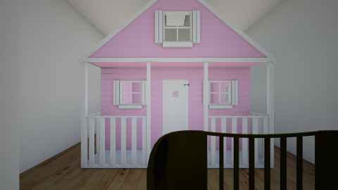 Its a girl - Kids room - by Isabelle Broughton