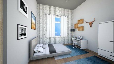 Modern_Scandinavian  - Bedroom  - by percy8