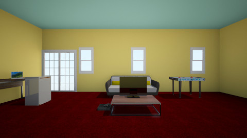 Warm Living Room - Modern - Living room - by arekwarren5
