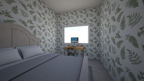 Amelie style bedroom - Bedroom  - by noemiskyminer