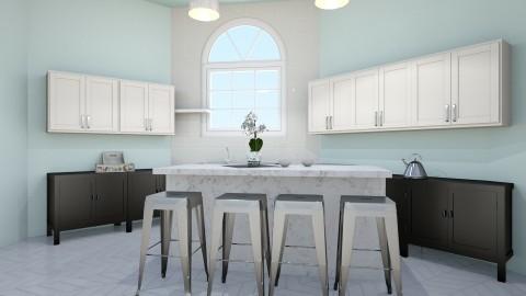 Country Kitchen - Minimal - Kitchen  - by artist4568