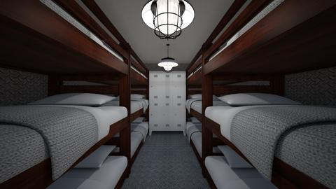 12 Person Bunk Room - Bedroom  - by SammyJPili