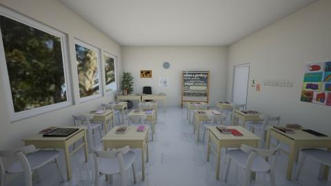 Elementary Classroom - Kids room  - by millerfam
