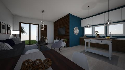 Blue apartment - by SZdesing