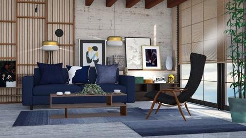 M_ Inspired Conran room - Living room  - by milyca8