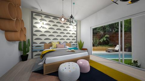 Playful Bedroom - Bedroom - by Marion_