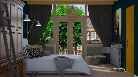 Cosy bedroom  - Classic - Bedroom  - by HenkRetro1960