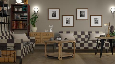 Chess Sofa - Living room  - by ZuzanaDesign