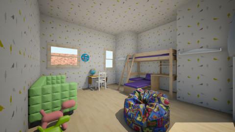 let them play - Kids room - by Sylvie Van Dessel