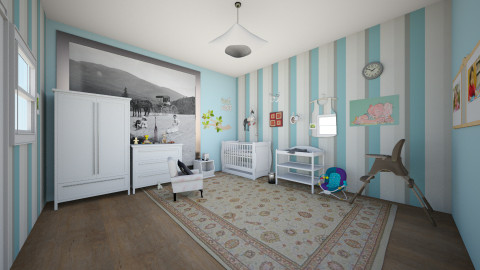 babys room - Classic - Kids room  - by Arianna Lanz