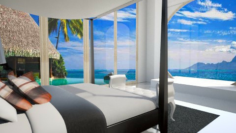 take me to Bora Bora - Modern - Bedroom  - by Chelsea Avelino