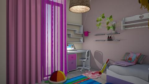 elsad305 - Kids room  - by vottimaria