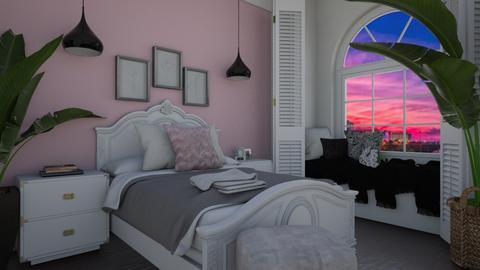 Playful Pink - Bedroom  - by Khayla Simpson