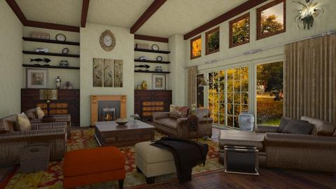 Hallie y Annie Parker J - Country - Living room  - by deleted_1524667005_Elena68