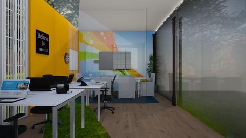 Devs View - Office  - by Jeycie Designs