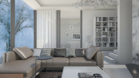 Modern Neutral Living - Living room  - by deleted_1513655778_Valencey14