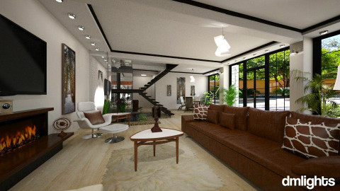 Clearwater - Modern - Living room  - by Lackew