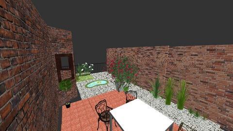 courtyard - Garden  - by oscar1