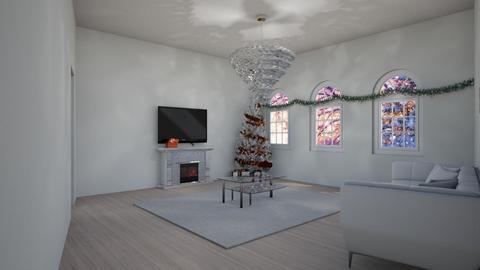 christmas living room - Living room  - by miriam231