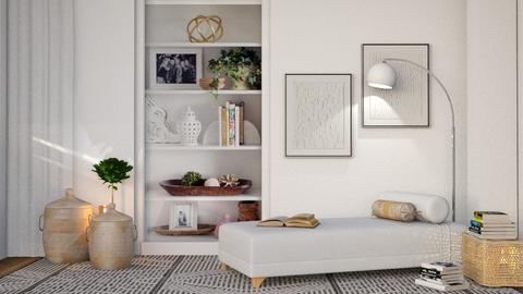 M_ Books - Living room  - by milyca8