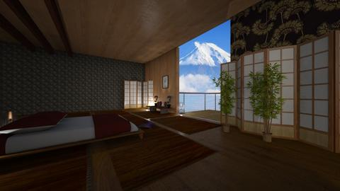 japan bedroom - Minimal - Bedroom  - by tiagoff01