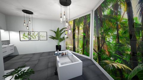 tropikalna kapiel - Bathroom  - by monek299