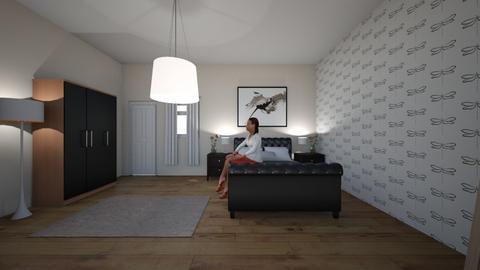 shared room - Modern - Bedroom - by Anajackiewicz2002