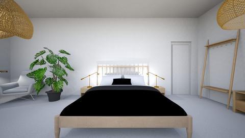 habitacion santorini - Minimal - Bedroom  - by Juditperezbrito18