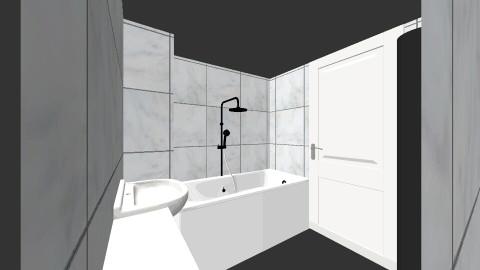129b - Minimal - Bathroom  - by Eveolution