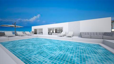 modern beach house - by beatricebenatar