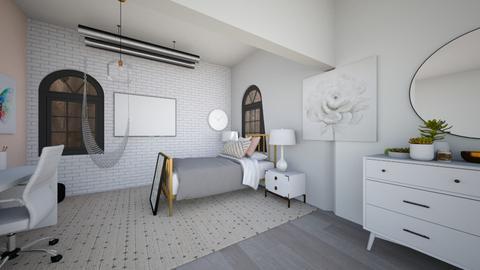 Basement Bedroom - Bedroom  - by Chayjerad