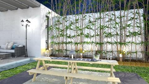 01_R - Modern - Garden  - by Genevive_C907