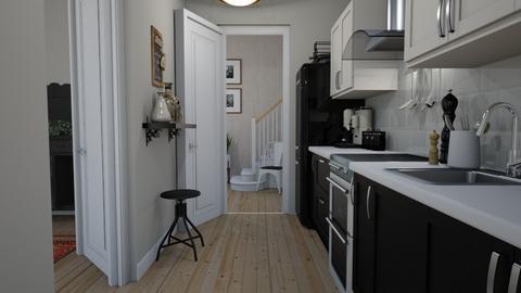 Apartment - Kitchen - by Tuija