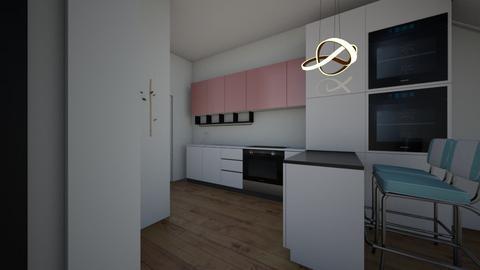 plan wani - Kitchen  - by eezwaniey81