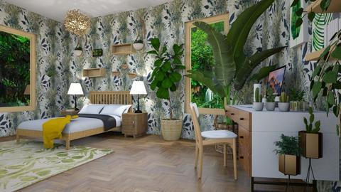 Indoor plant room - Bedroom  - by Martina0205