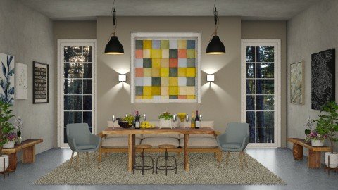 Dining Room_Scarlet_Renov - Modern - by ayudewi