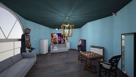 Tonys rooom - Bedroom  - by TONYSTARK3930