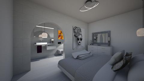 Formal Hotel Suite 1  - Bedroom  - by KylaTH