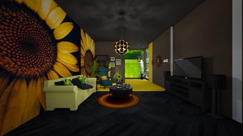Sunflower room - Living room  - by loisep1999