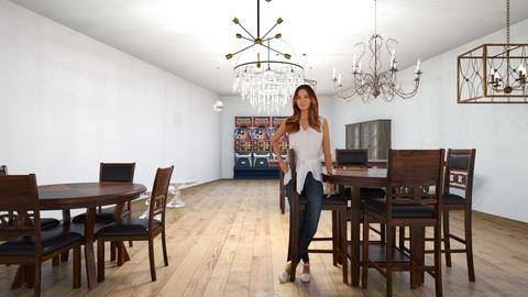 matthew - Retro - Dining room  - by 23mgardner