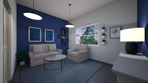 design challenge 1 - Living room  - by Anna Leighty