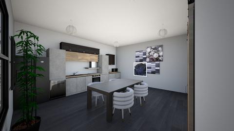 Kitchen Model - Modern - Kitchen  - by 22etighe