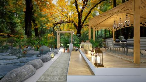 Outdoor Dining - Garden  - by Feeny