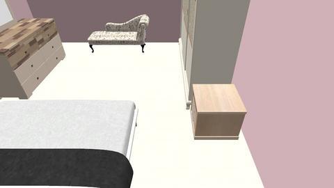 Master Bedroom V2 - Modern - Bedroom  - by Sparkbleh