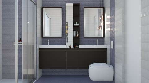 Regal - Modern - Bathroom  - by aletamahi