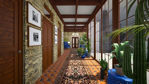 Hallway - by amyskouson